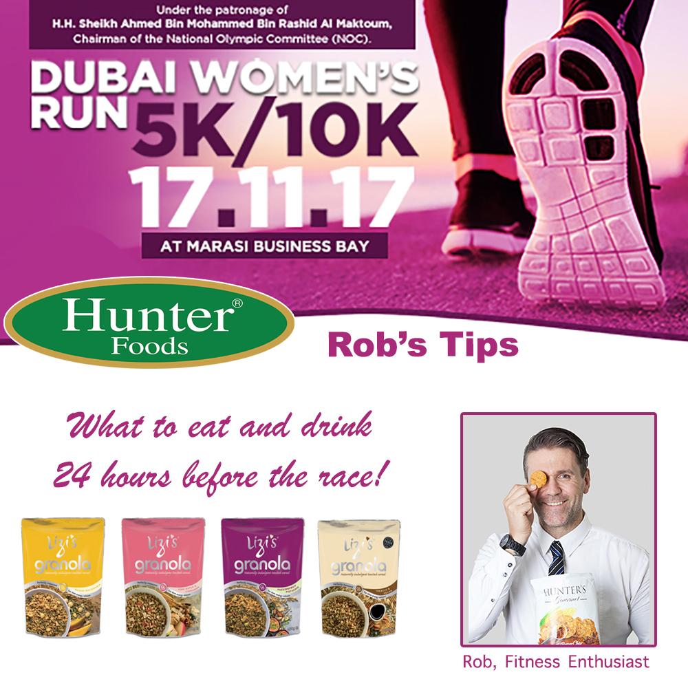Hunter Foods Team at Dubai Women's Run