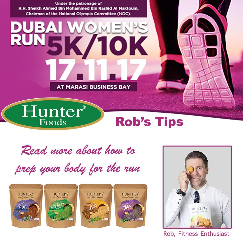Hunter Foods Team at Dubai Women's Run - Hunter Foods