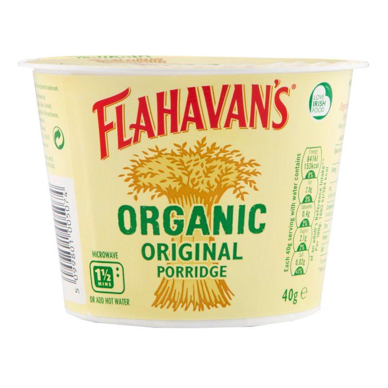 Flahavan's Organic Porridge Oats Original (40gm)
