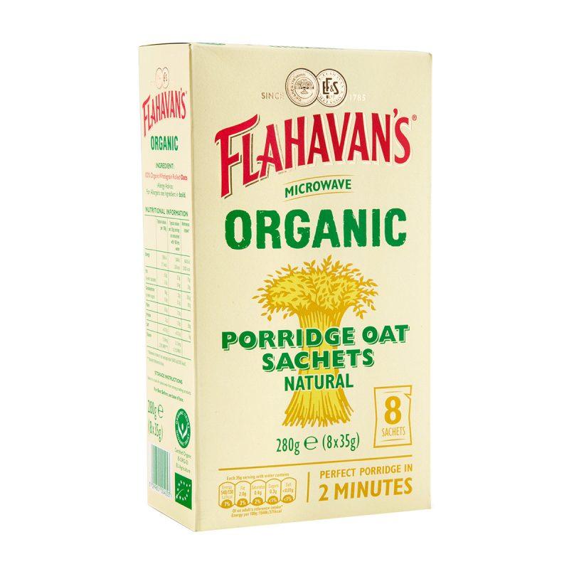 Flahavan's Organic Porridge Oats Sachet