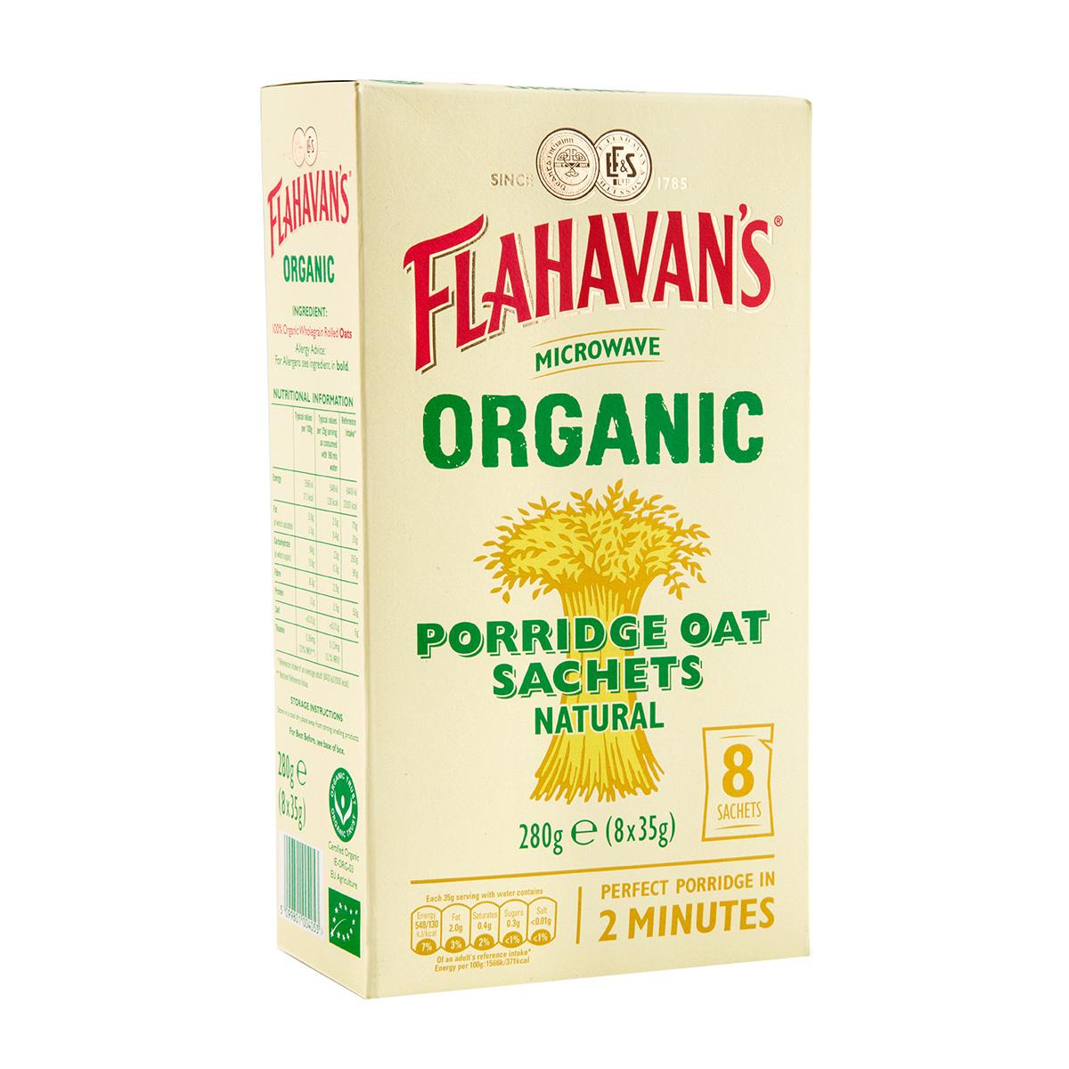 Flahavan's Irish Porridge Oats Naturally Creamy Original (350gm)