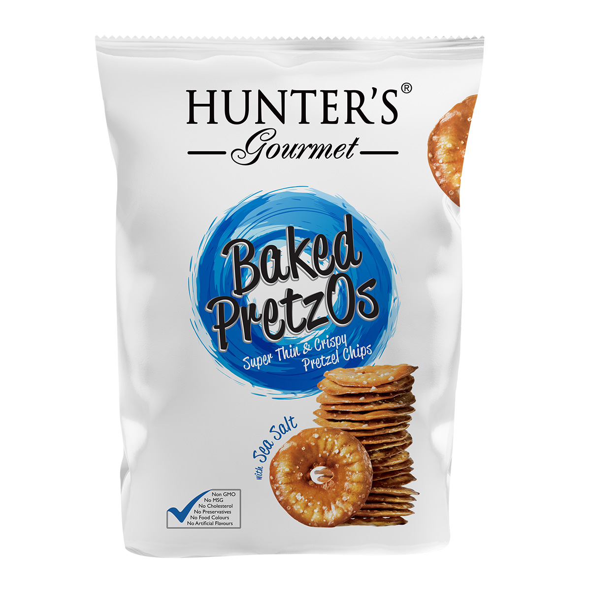 Hunter's Gourmet Baked PretzOs With Sea Salt