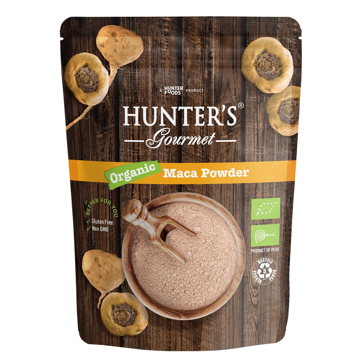 Hunter's Gourmet Organic Flax Seeds (300gm)