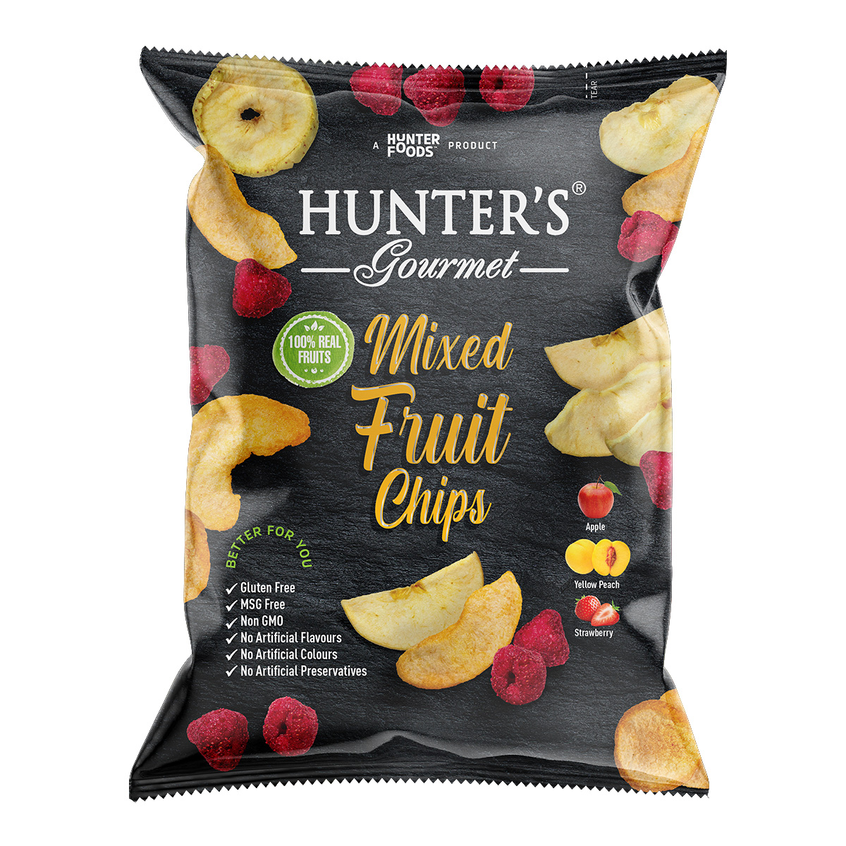 Hunter's Gourmet Mixed Vegetable Chips (75gm)