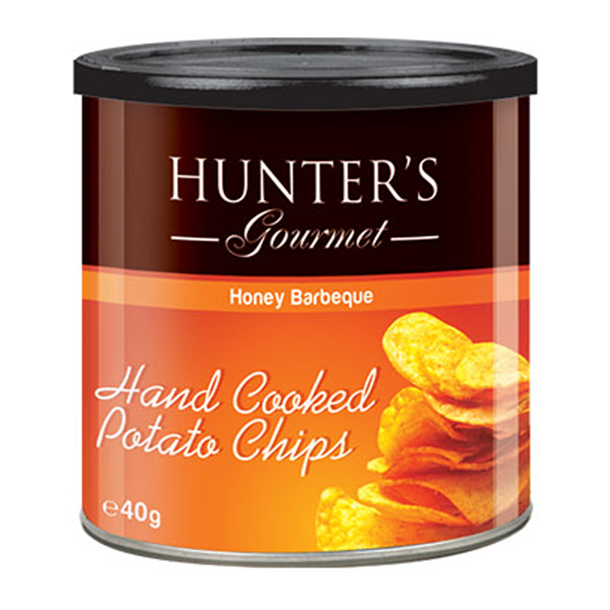Hunter's Gourmet Hand Cooked Potato Chips  – Yoghurt with Natural Herbs (40gm)