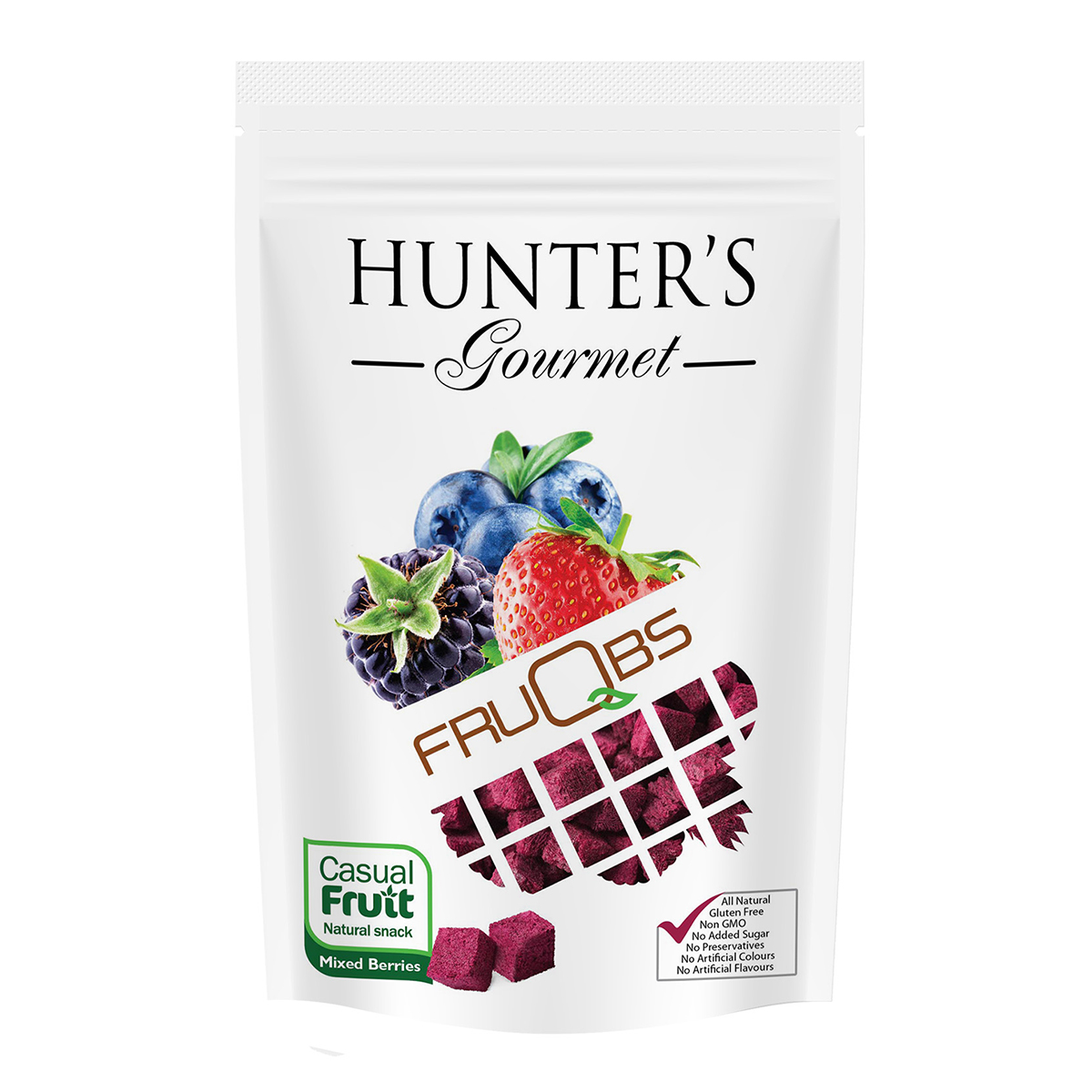 Hunter's Collection Black Sesame & Soy Crackers – Black sesame & soy (100gm)
