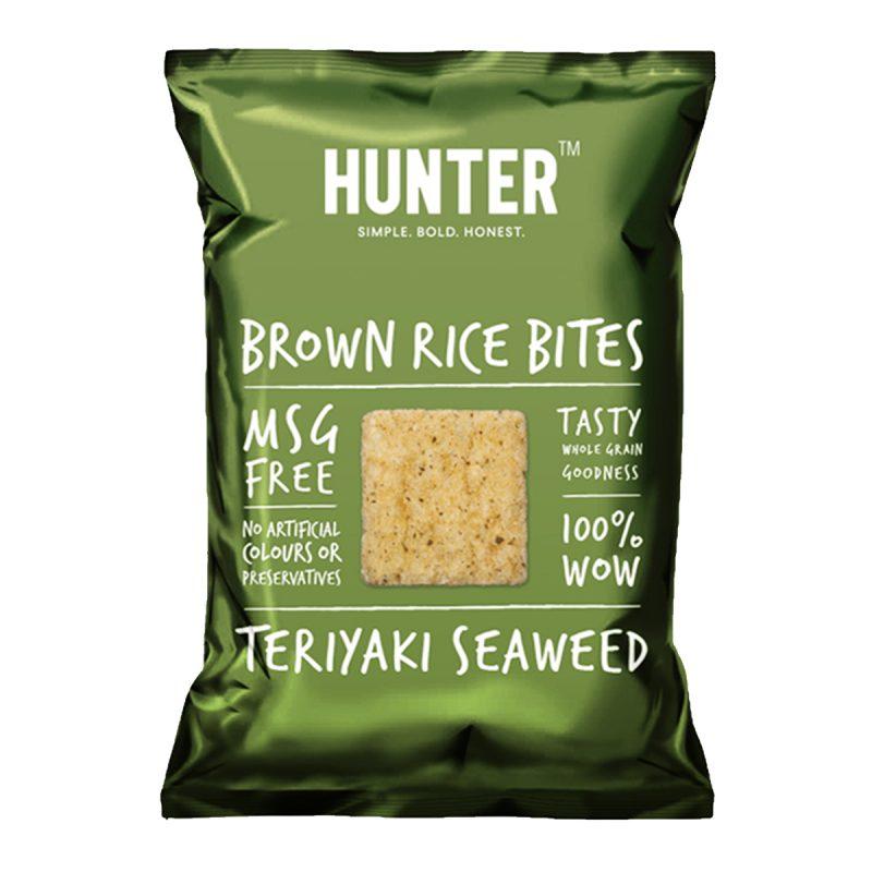Brown Rice Bites  - Teriyaki Seaweed (100gm)