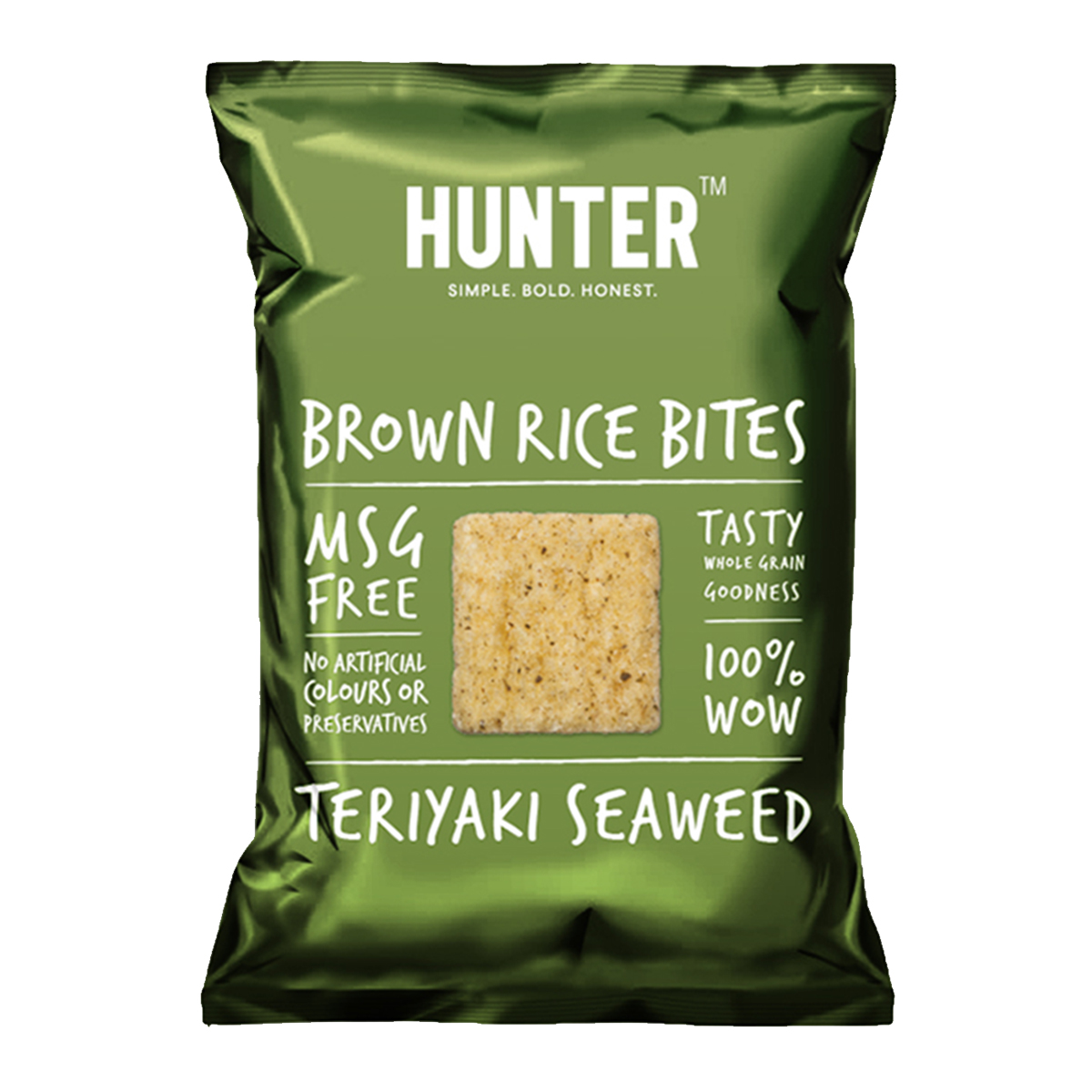 Hunter Brown Rice Bites  – Wasabi (100gm)