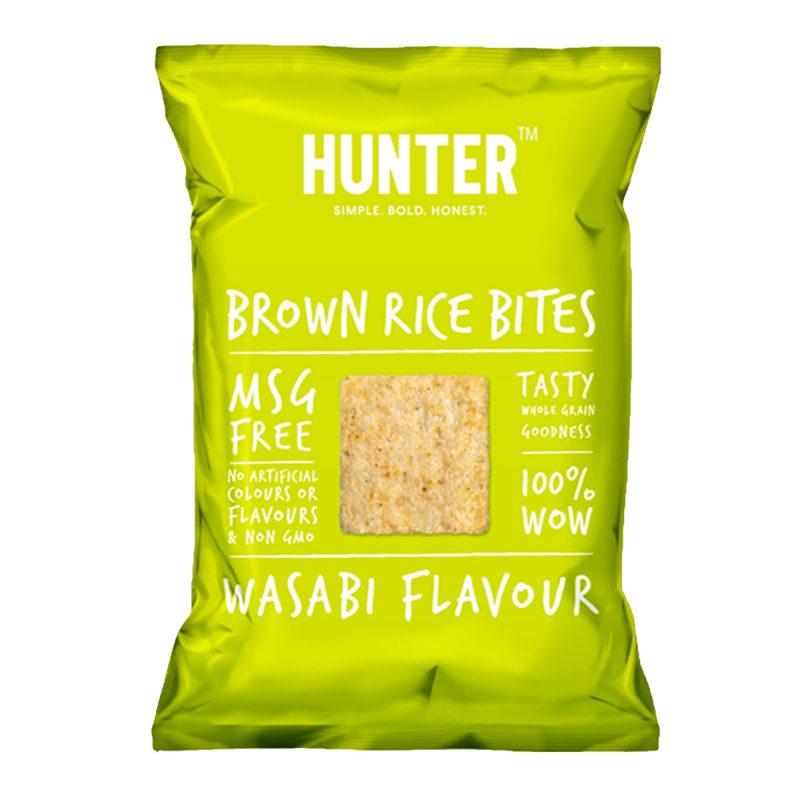 Brown Rice Bites  - Wasabi (100gm)