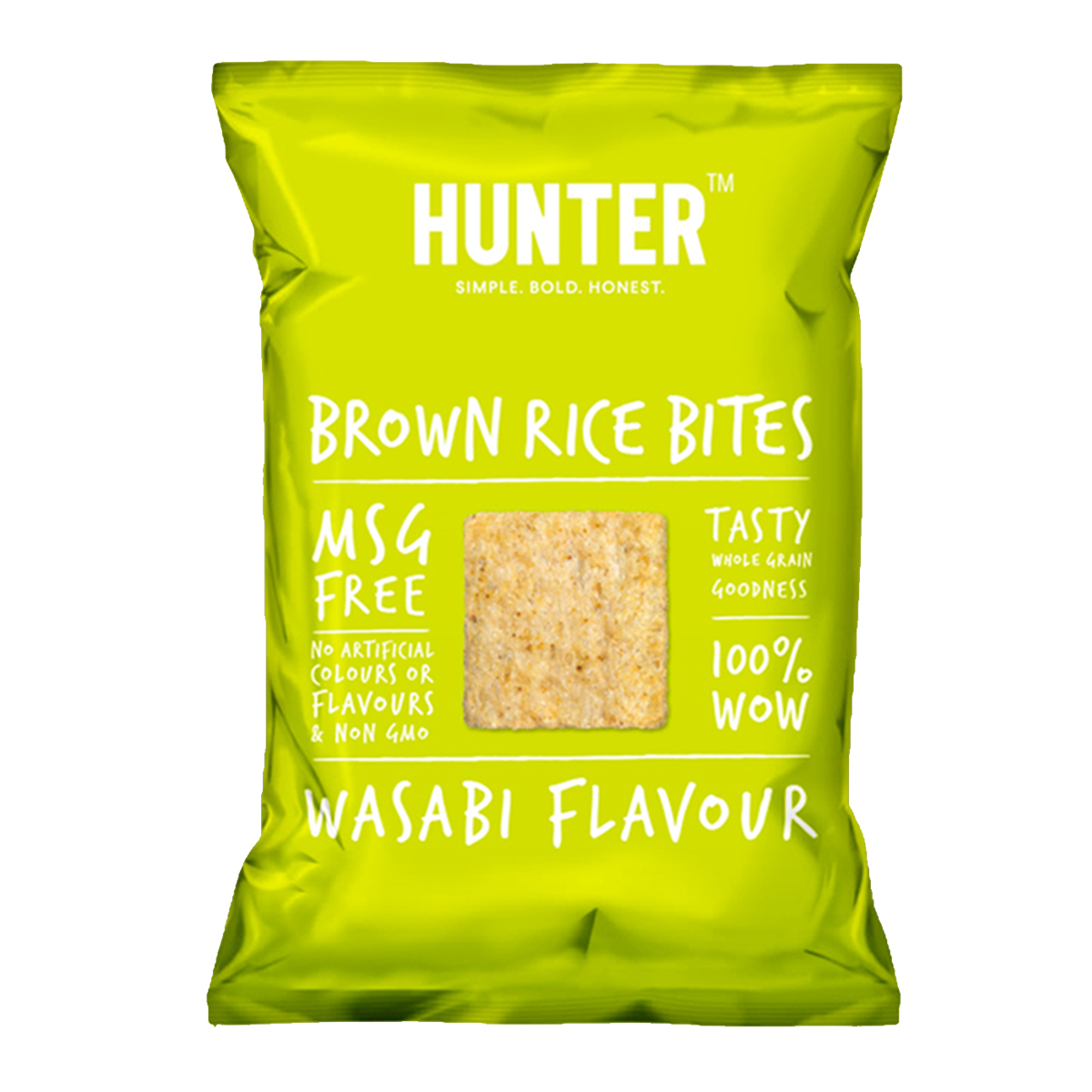 Brown Rice Bites  - Wasabi (100gm)