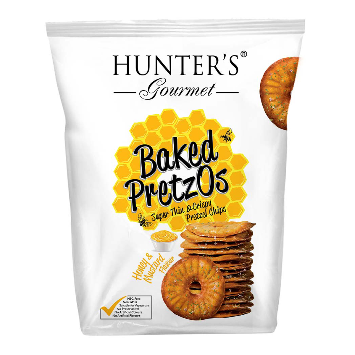 Baked PretzOs  - Honey & Mustard (160gm)