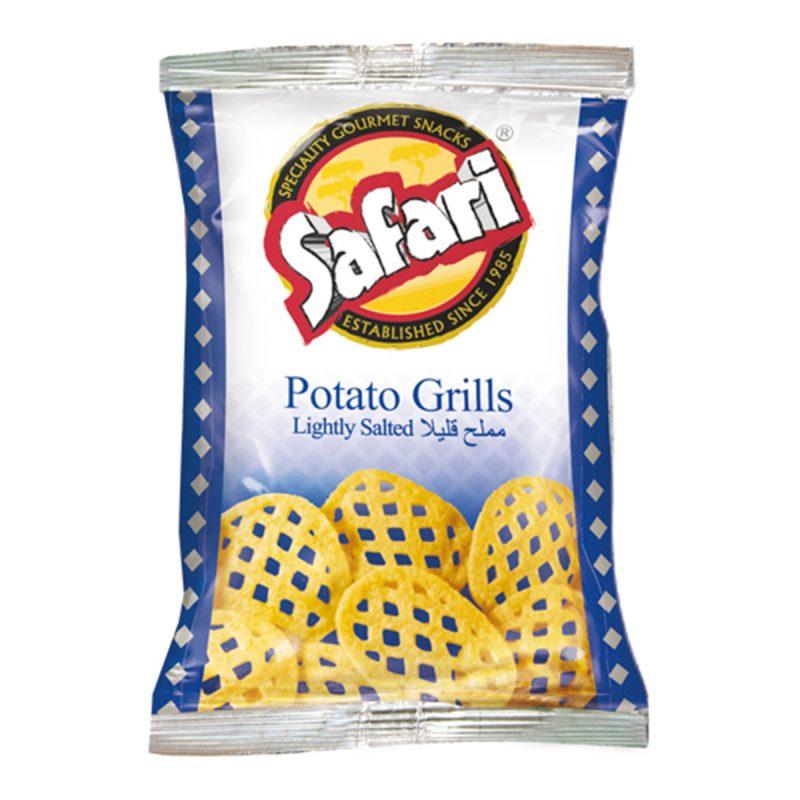 Safari Potato Grills – Lightly Salted (70gm)