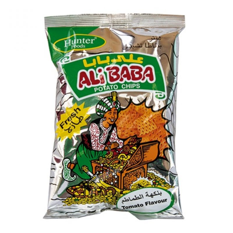 Alibaba Potato Chips – Tomato (15gm)