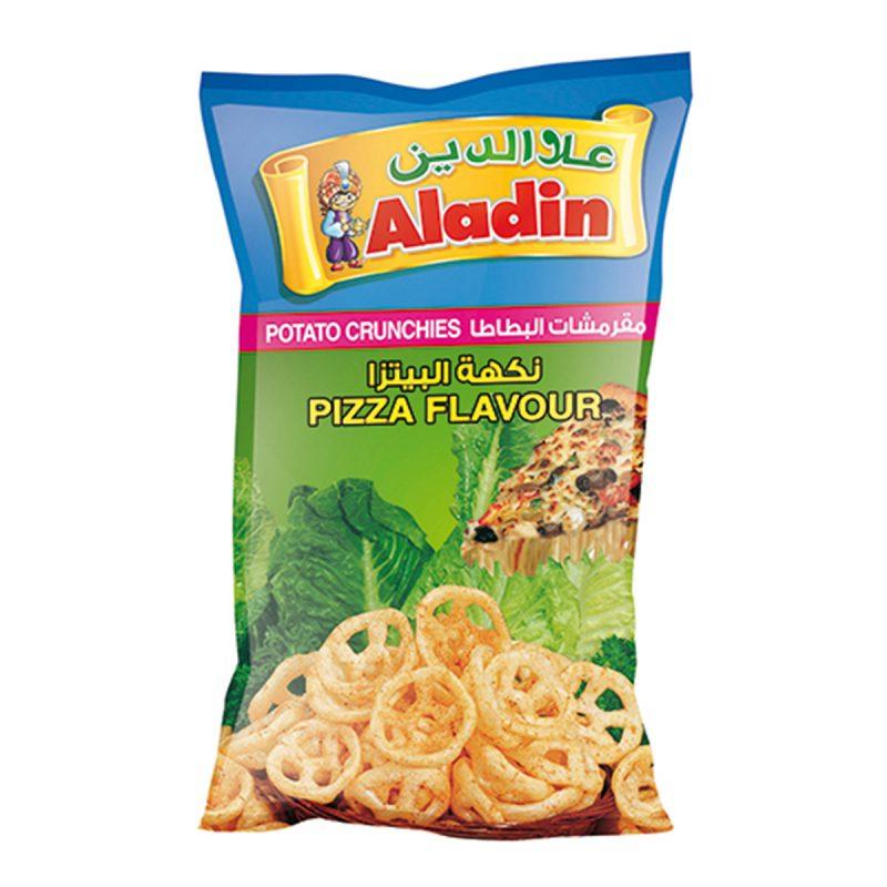 Aladin Potato Crunchies – Pizza (60gm)