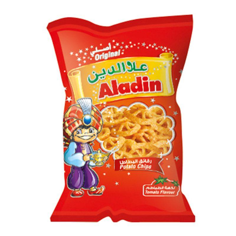 Aladin Potato Chips - Tomato (15gm)