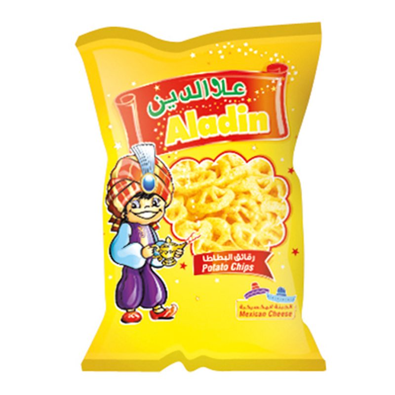 Aladin Potato Chips - Mexican Cheese (15gm)