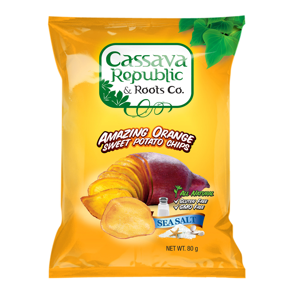 Root Chips - Orange Sweet Potato (80gm)