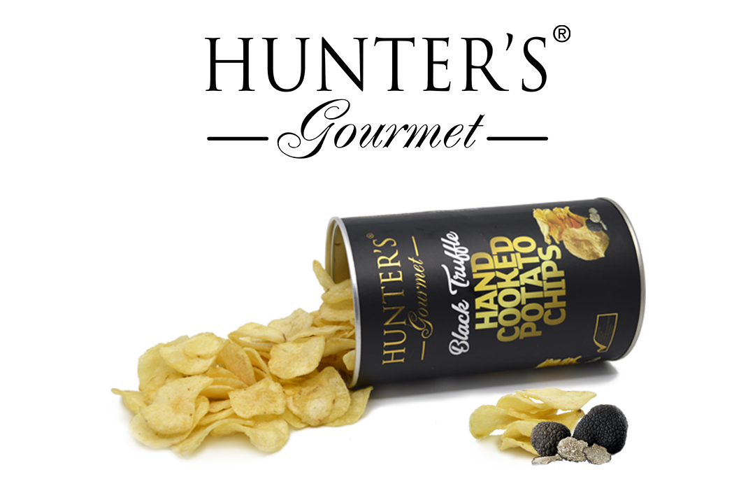 Hunter Foods Black Truffle hand cooked potato Chips