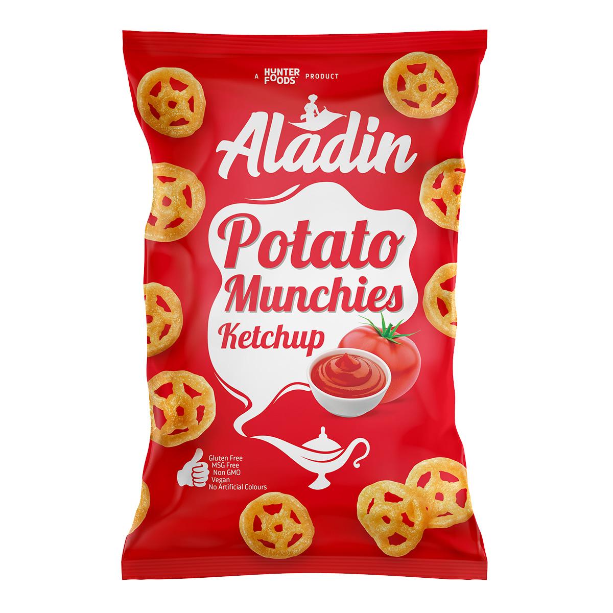 Aladin Potato Munchies – Pizza (60gm)