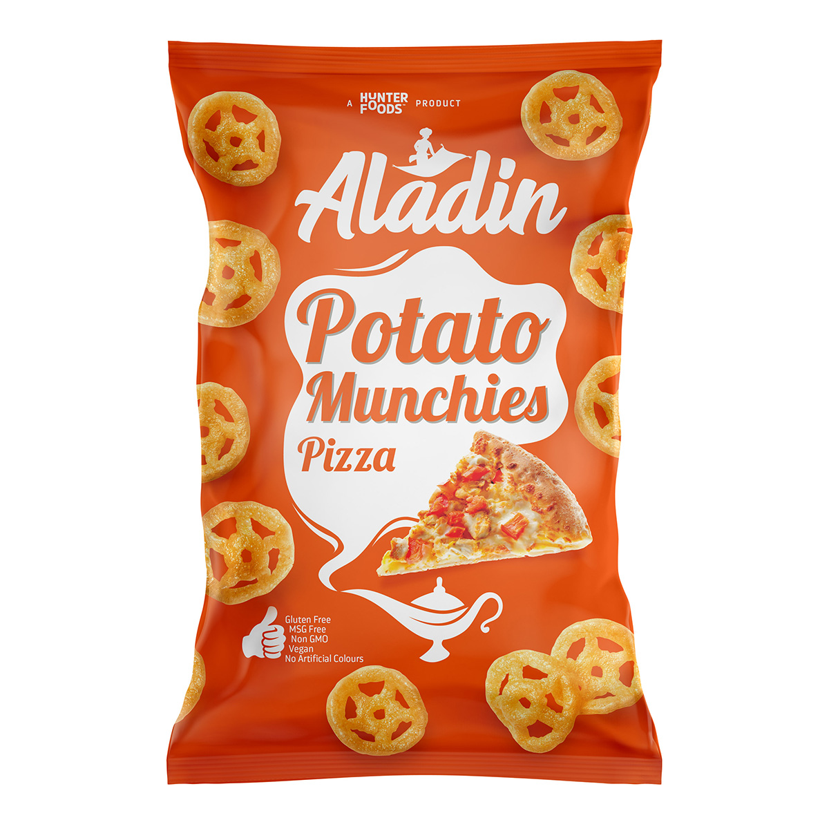 Aladin Potato Munchies - Pizza (60gm)