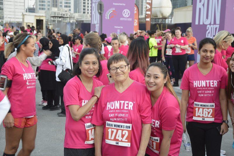 Marijona Dubai Womens Run Hunter Foods