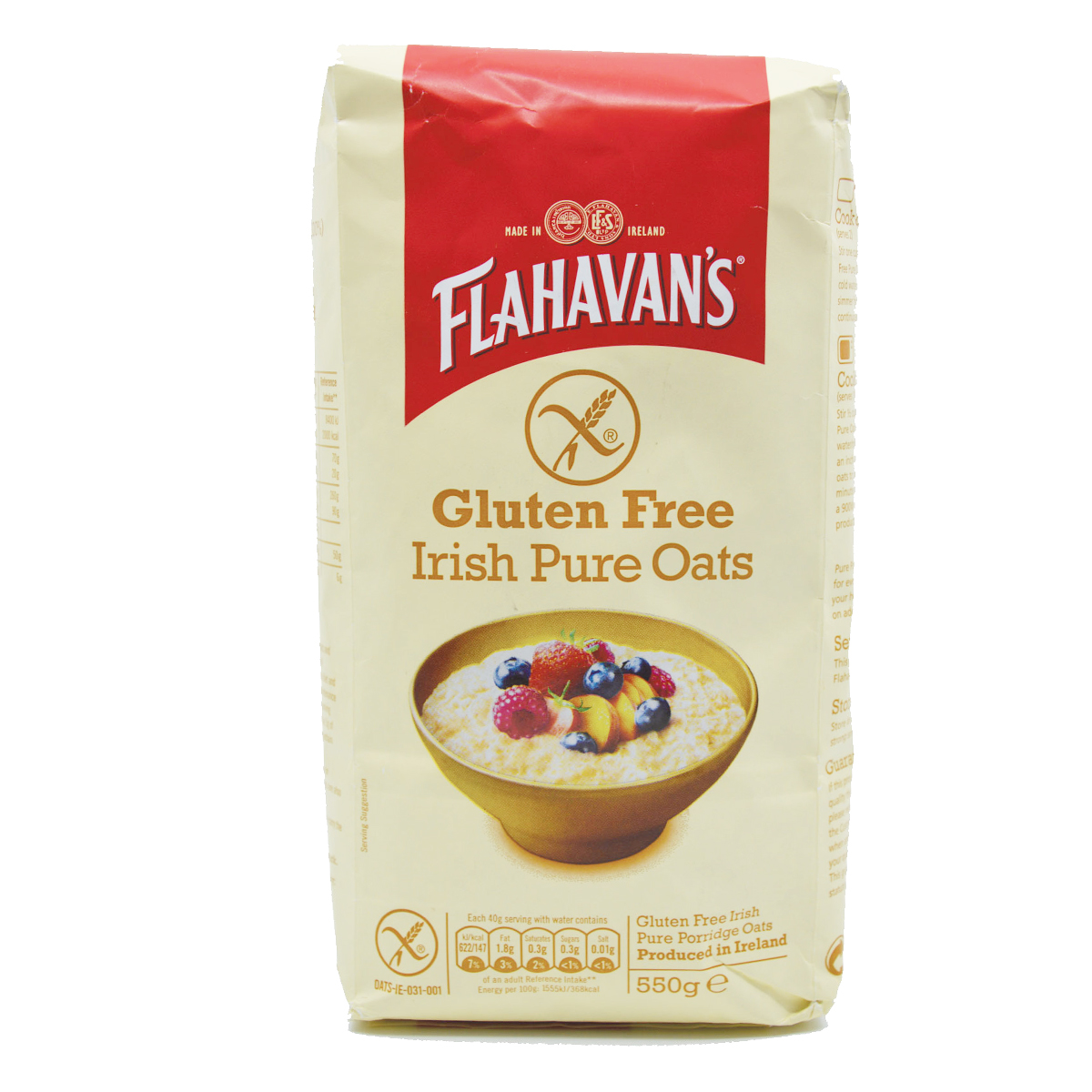 Flahavan's Quick Oats Red Berry (200gm)