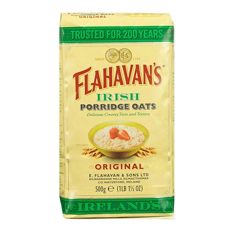 Flahavan's Irish Porridge Oats Original (500gm)