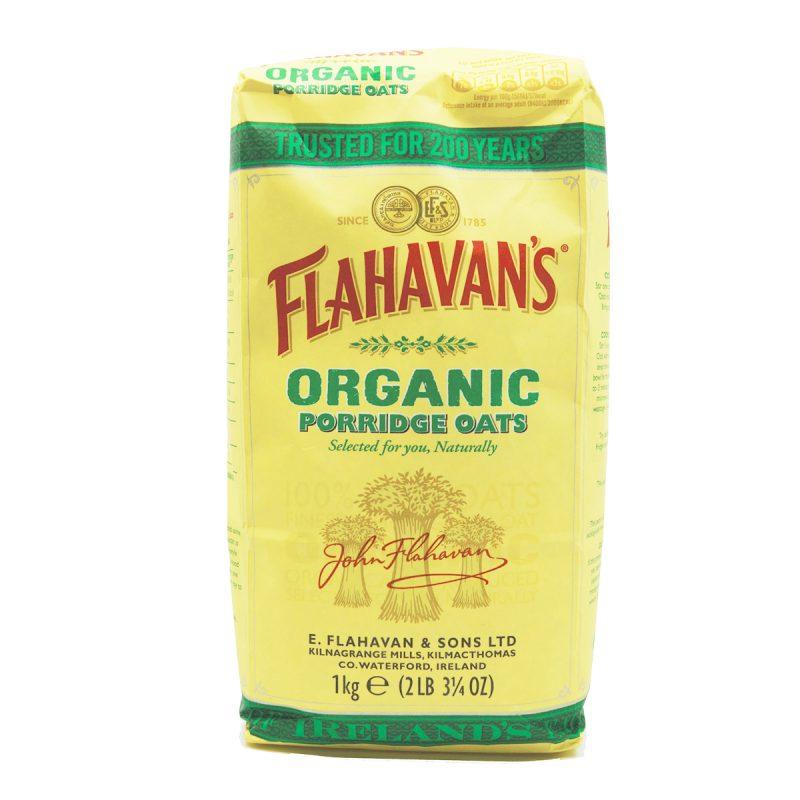 Flahavan's Organic Porridge Oats (1kg)