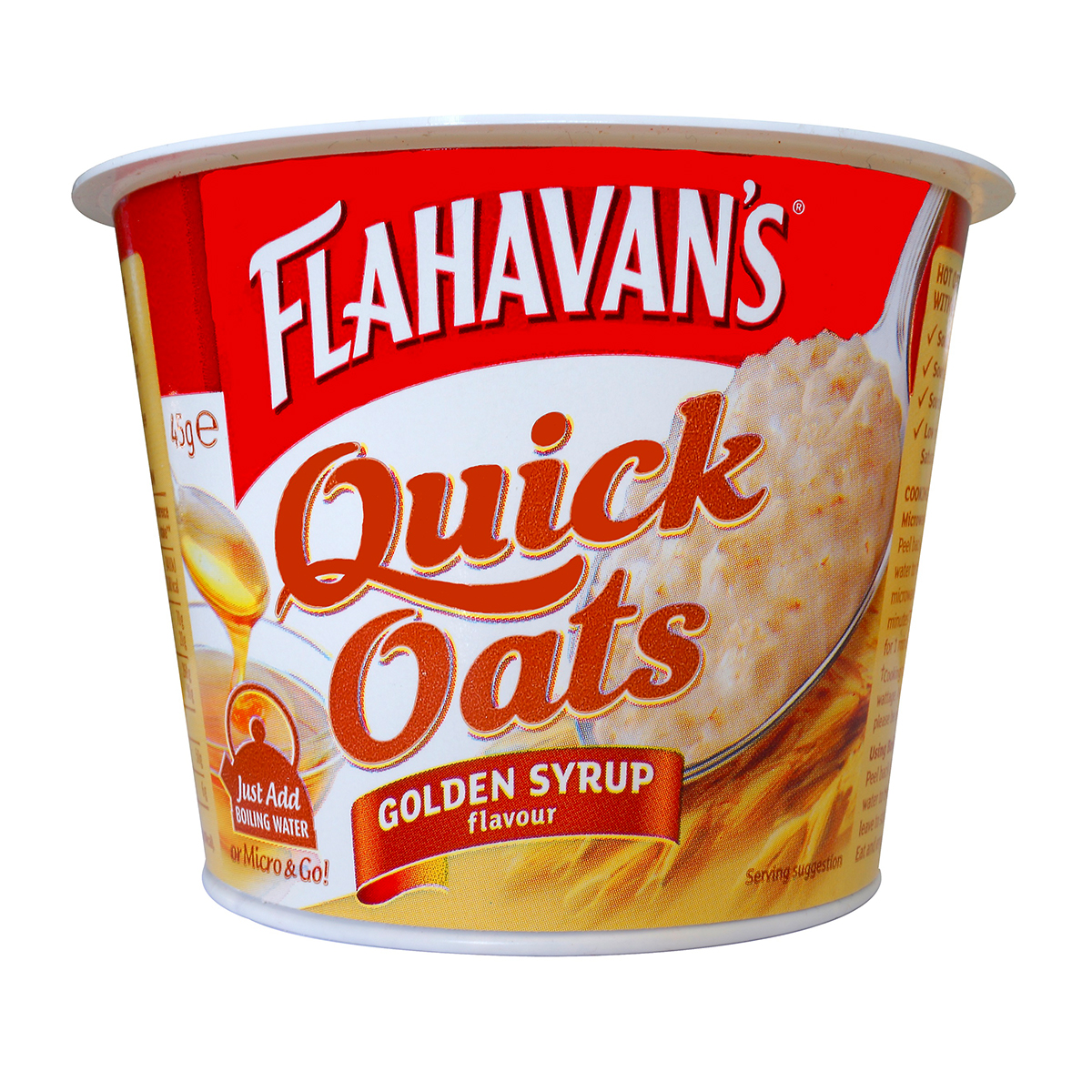 Flahavan's Quick Oats Blueberry & Red Apple (46gm)