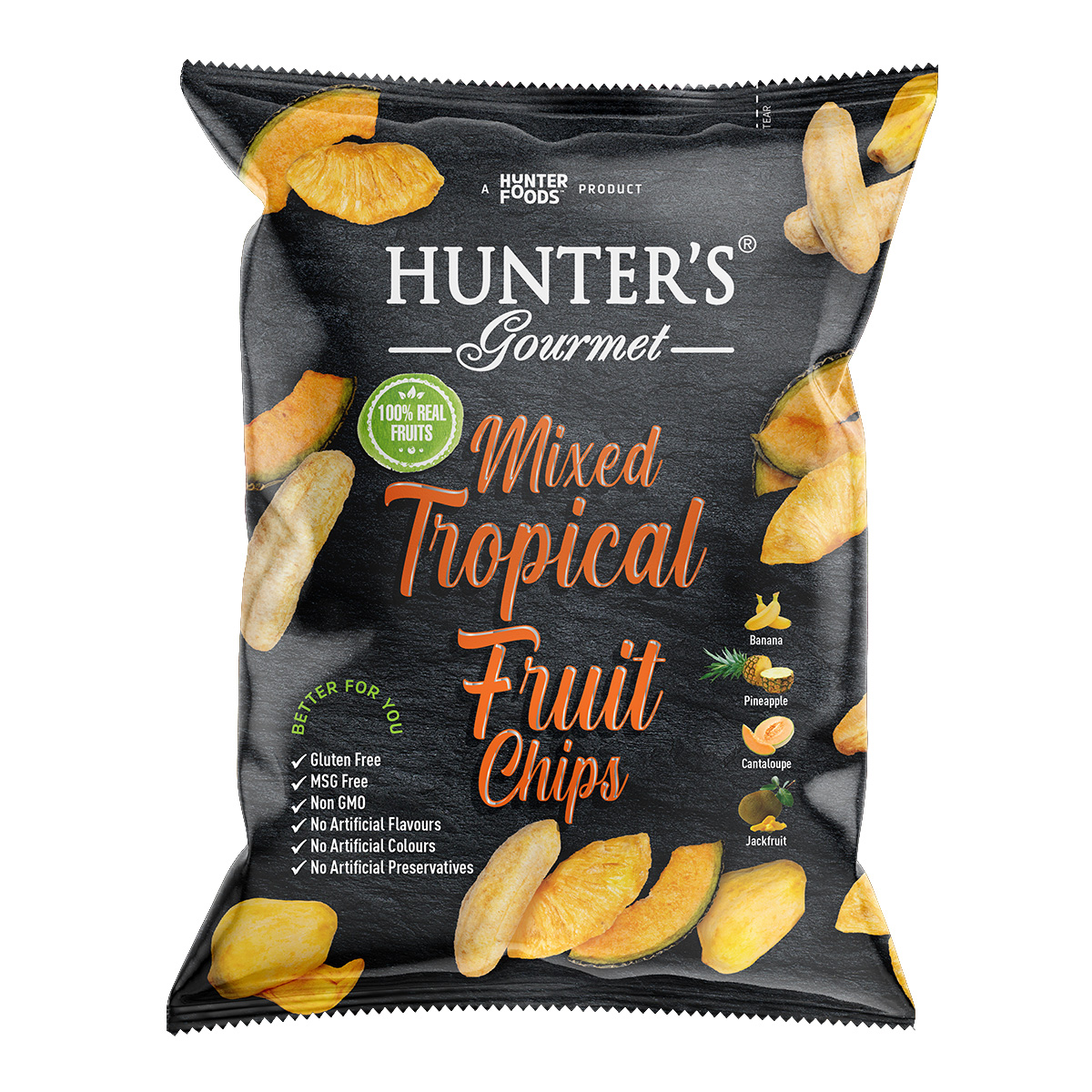 Hunter's Gourmet Snap Pea Chips (50gm)