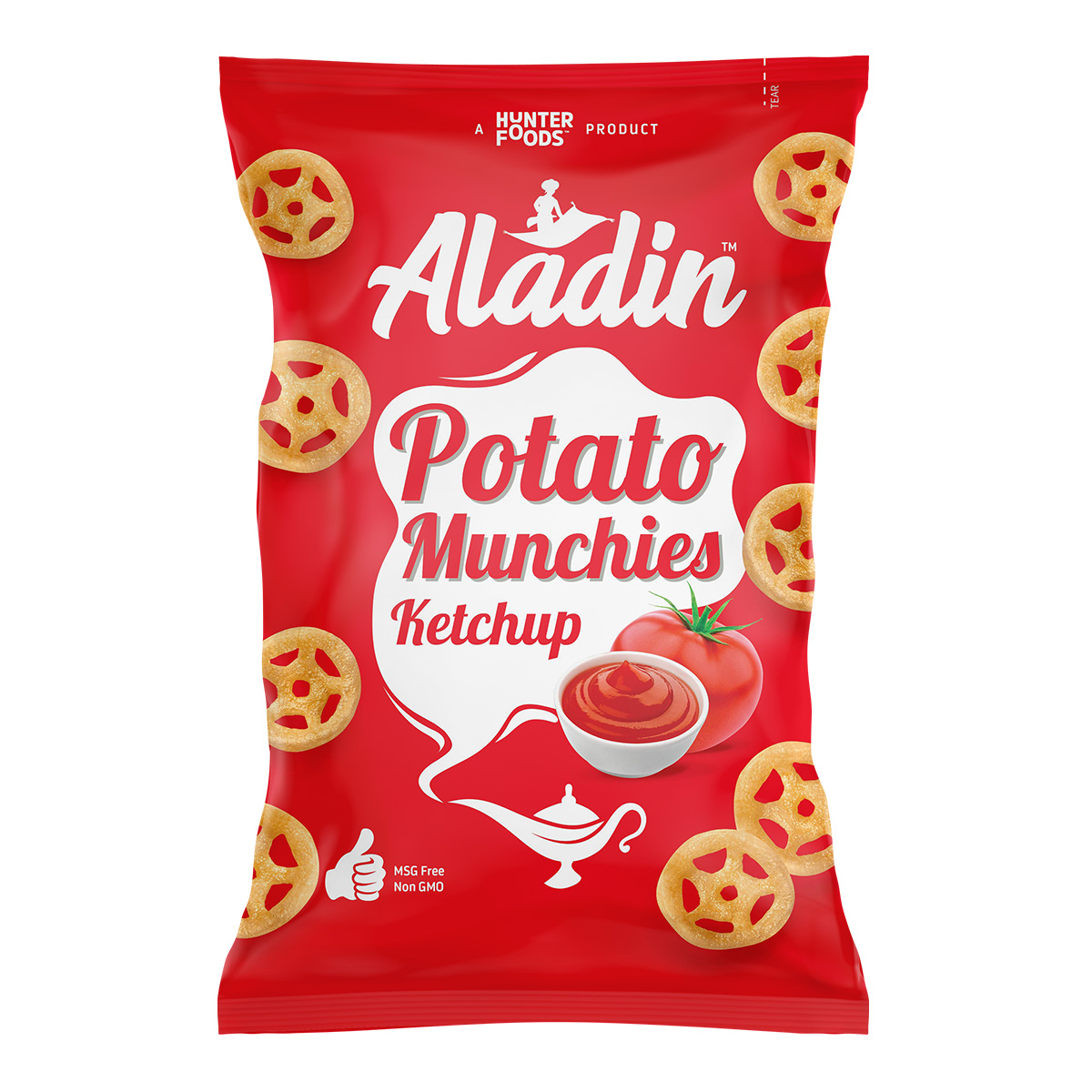 Aladin Potato Munchies – Cheese (60gm)