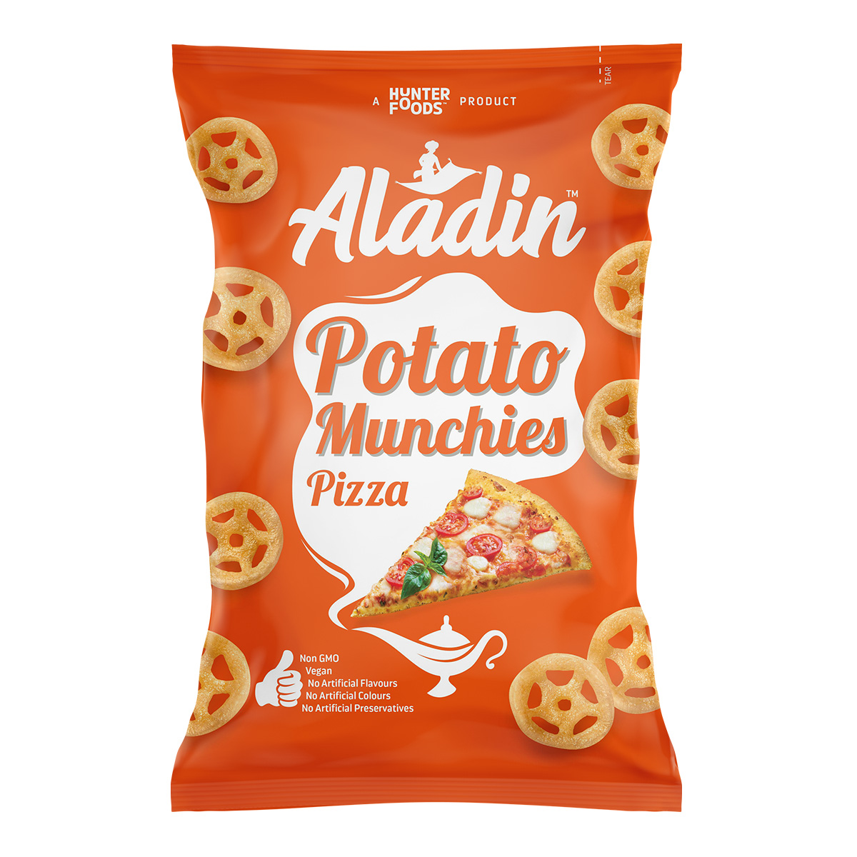 Alibaba Potato Crunchies – Tomato (15gm)