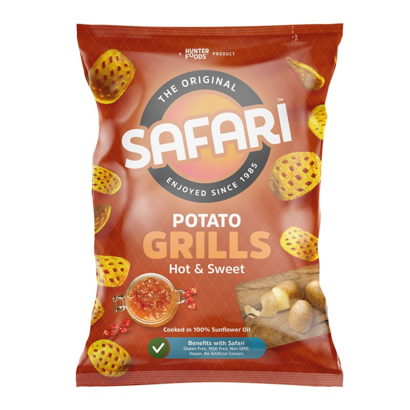 Safari Potato Grills - Hot & Sweet