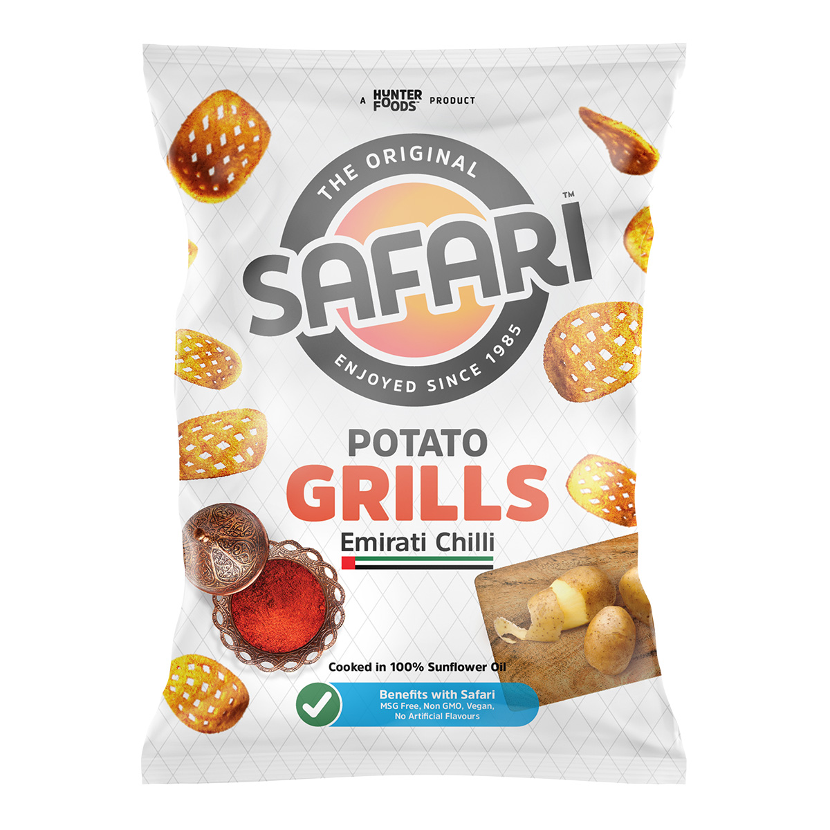 Safari Potato Grills - Emirati Chilli (60gm)