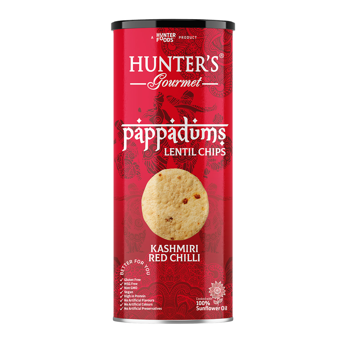 Hunter's Gourmet Baked PretzOs with Sea Salt (80gm)