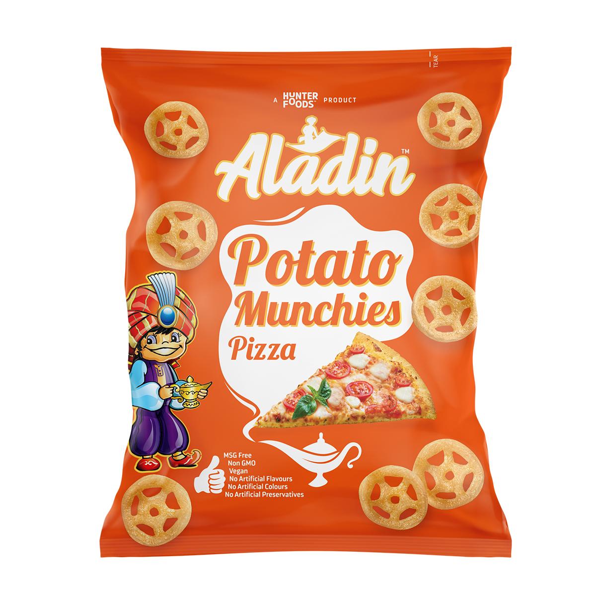 Alibaba Potato Crunchies – Chilli Cheese (15gm)