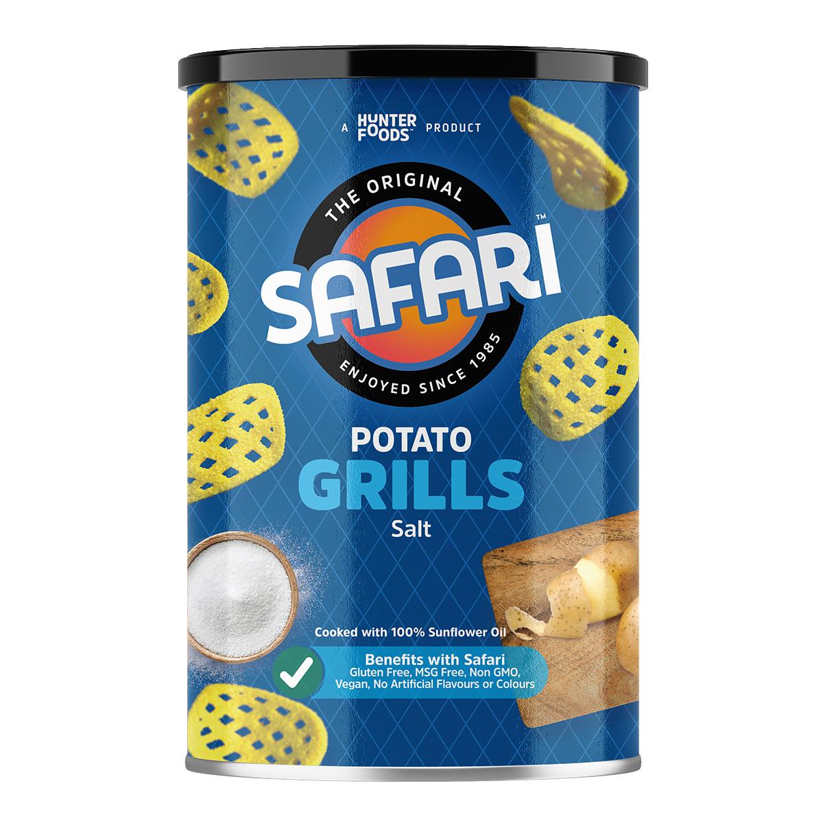 Safari Potato Grills – Hot & Sweet (100gm)