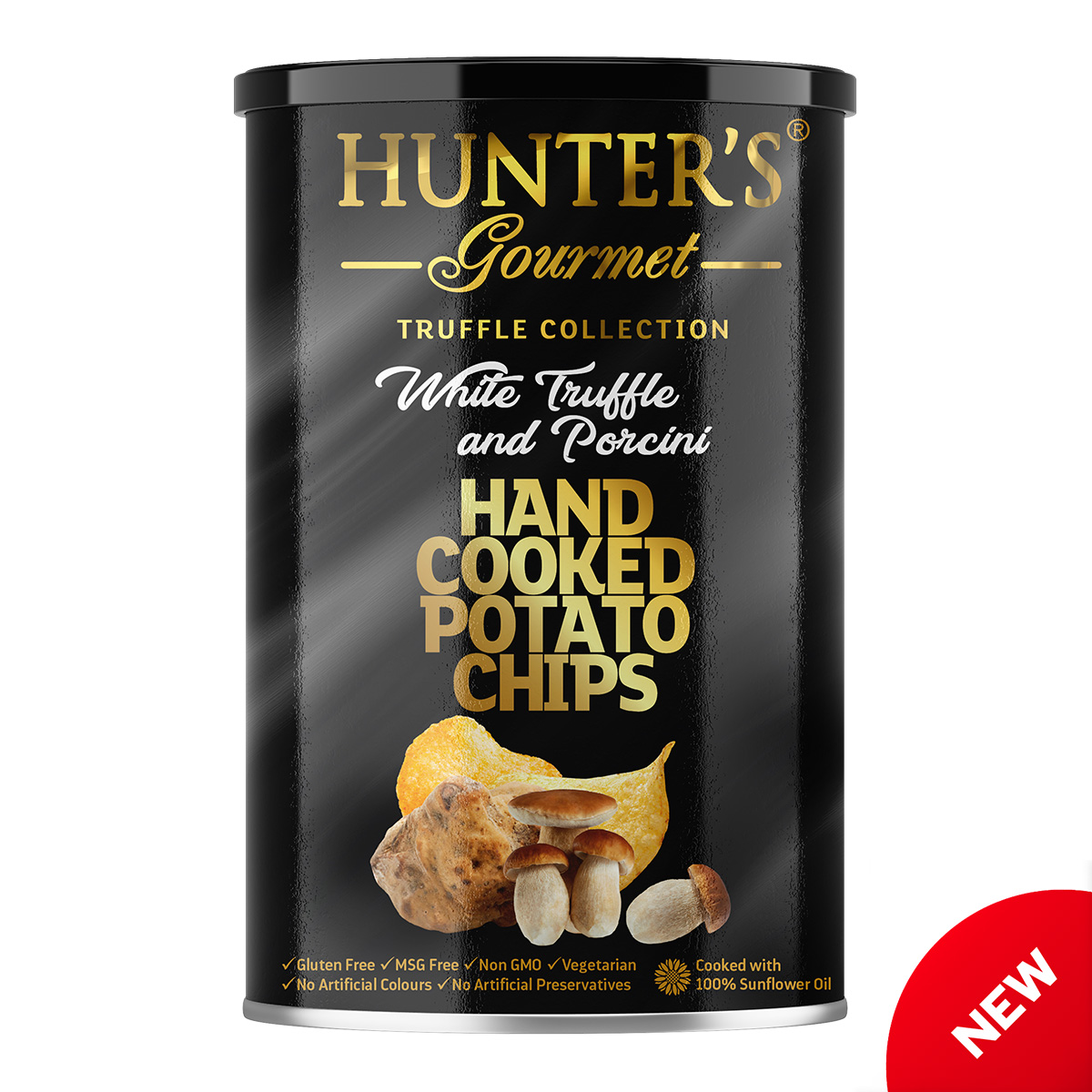 Hunter's Gourmet Hand Cooked Potato Chips – White Truffle – Truffle Collection (150gm)